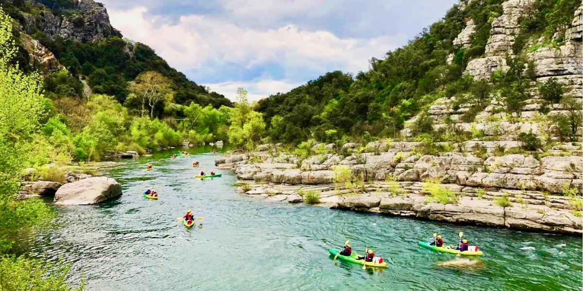 Canoeing in the Languedoc © Canoe Le Moulin.