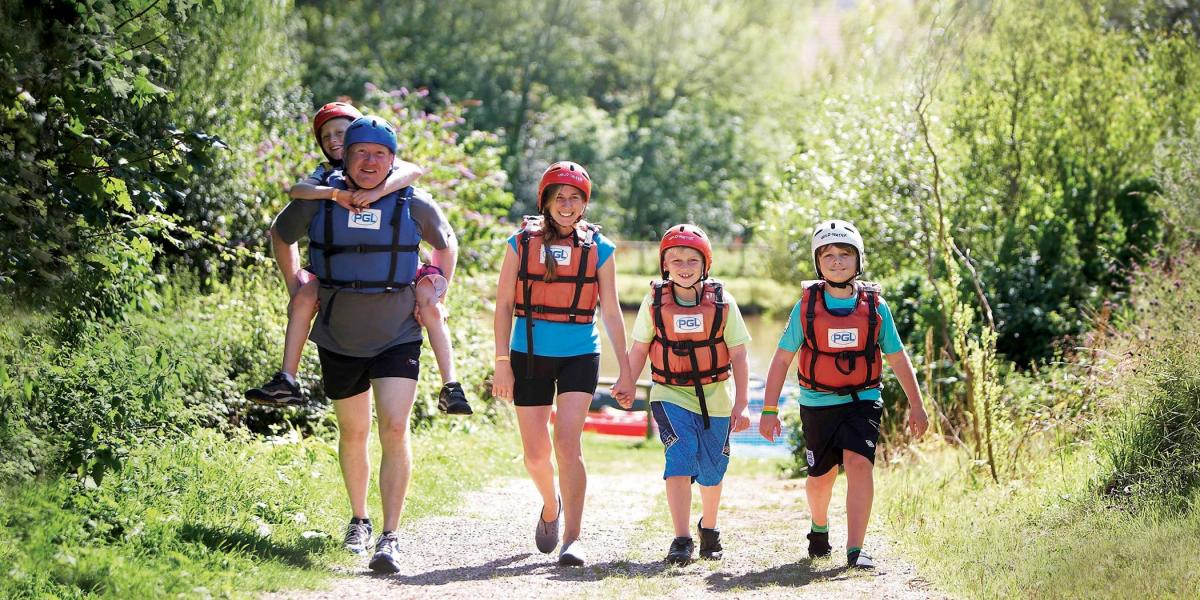 Active Family Holidays - this one with PGL