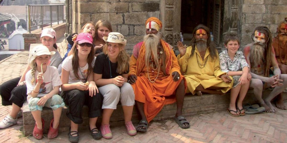 Nepal Family Adventure Holiday with Teenagers.