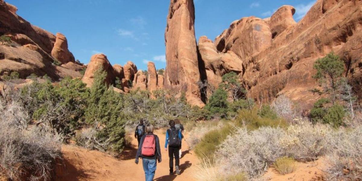 USA Family Adventure Holiday, Western USA walking