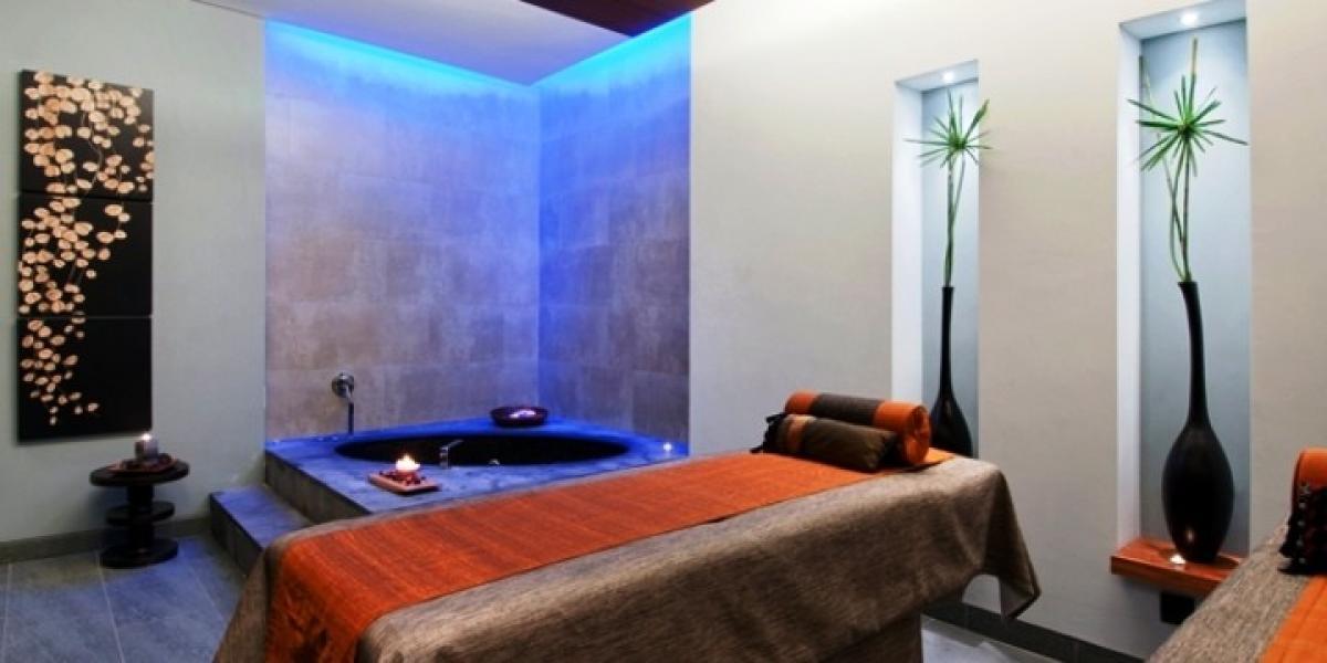 Luxury spa at the Hilton Vilamoura.