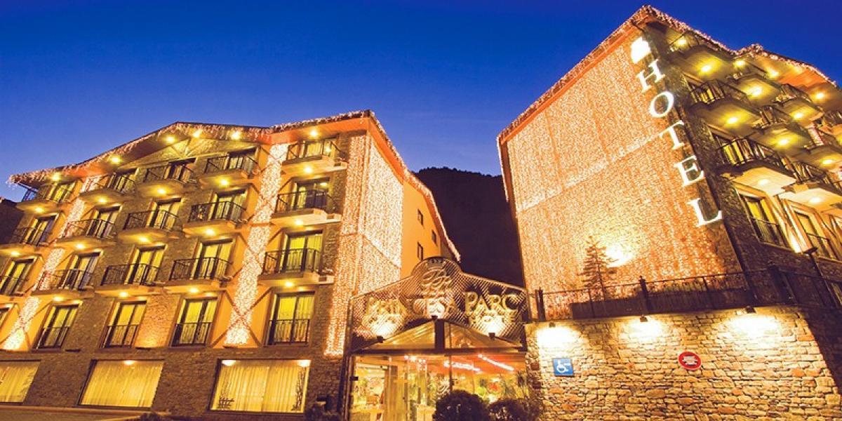 Exterior of Hotel Princesa Parc, Andorra.