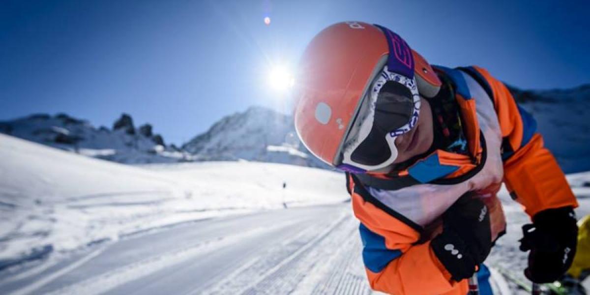 Skiing in Andorra.