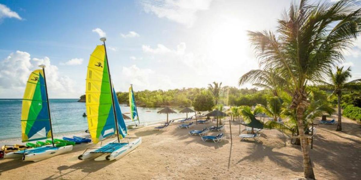 Water sports at Verandah Resort and Spa in Antigua.