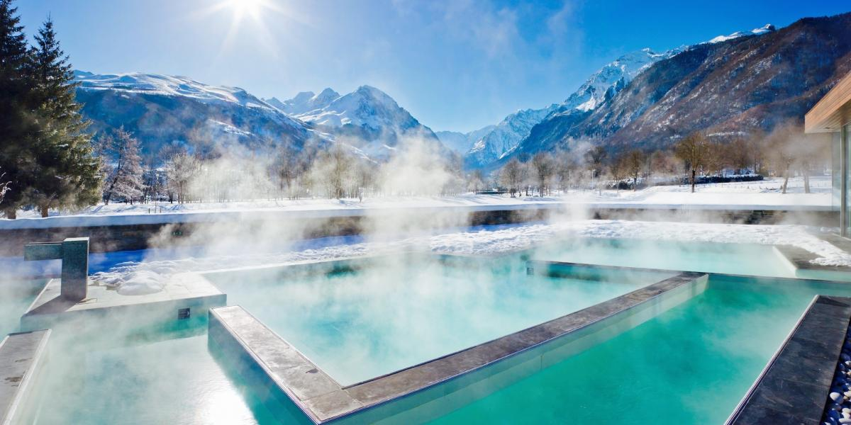 The Japanese baths at Balnéa.