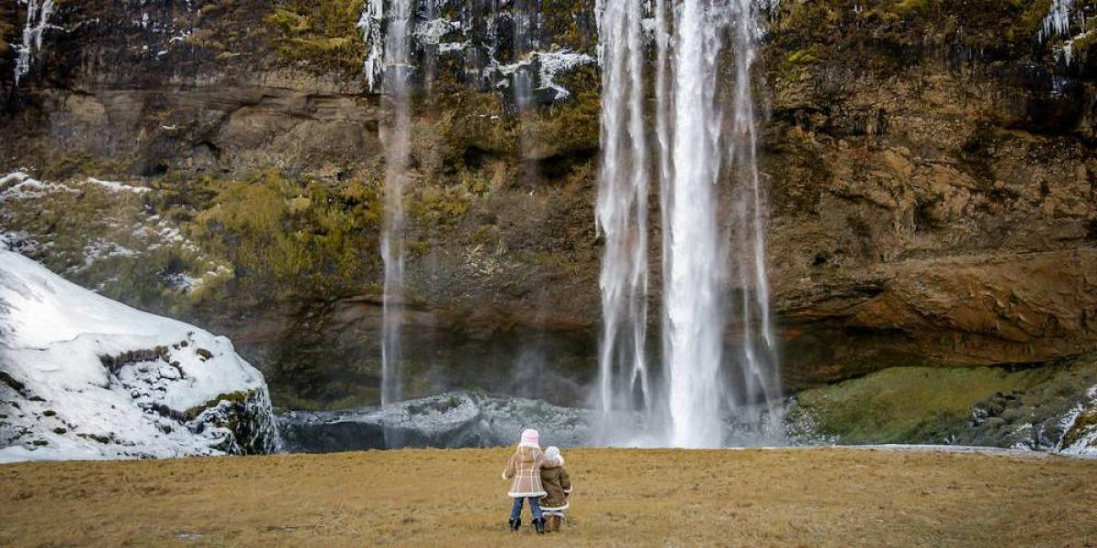 Explore the waterfalls of Iceland on this Self Drive Family Adventure.