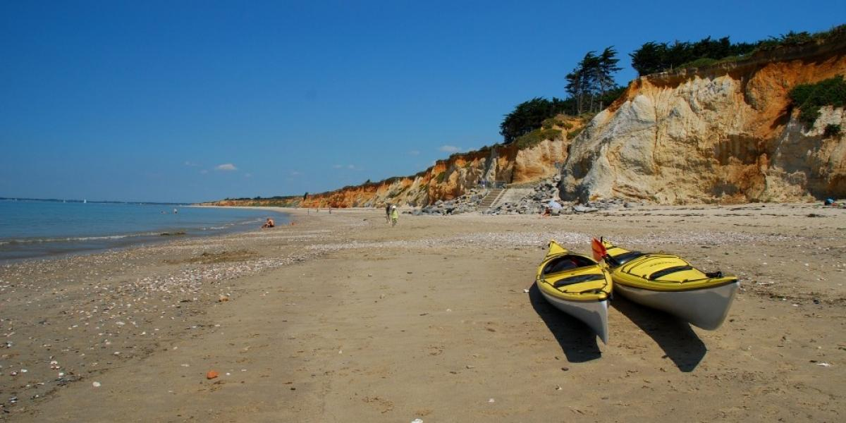 Plage de la Mine d'Or, Morbihan © Rhonda Carrier.