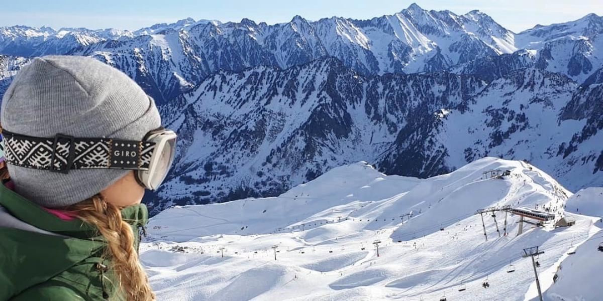 Skiing in the Cauterets valley © Cauterets.com