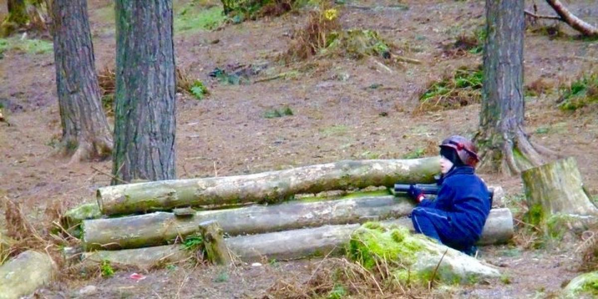 Laser Combat at Center Parcs Whinfell Forest.