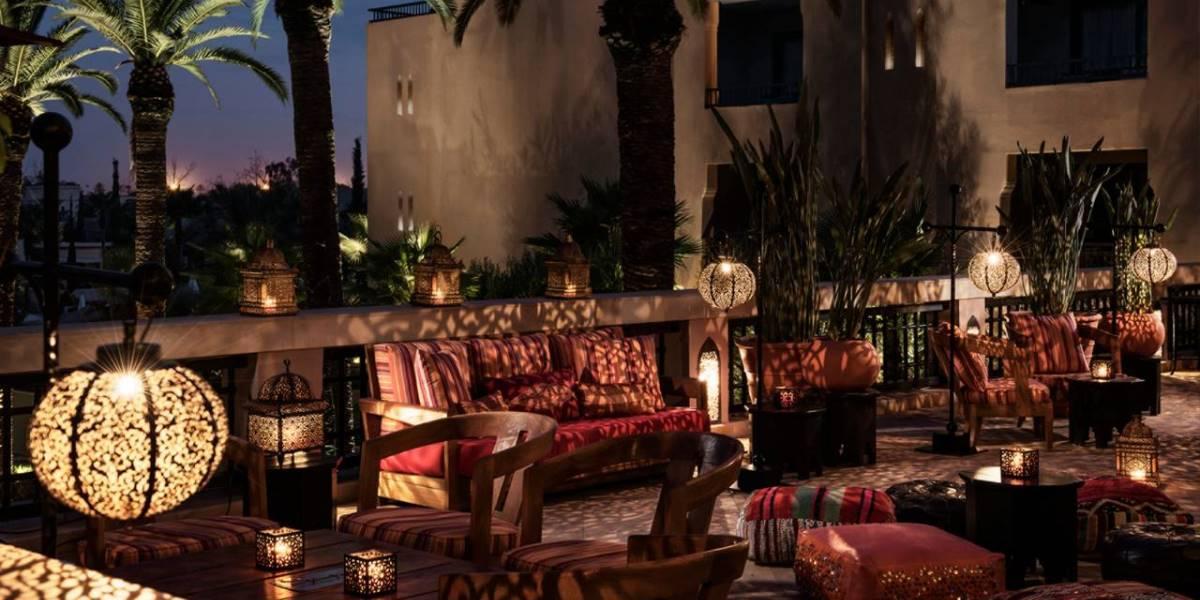 [copyright]Stylish surroundings on a city break at the Four Seasons Marrakech.[/copyright]
