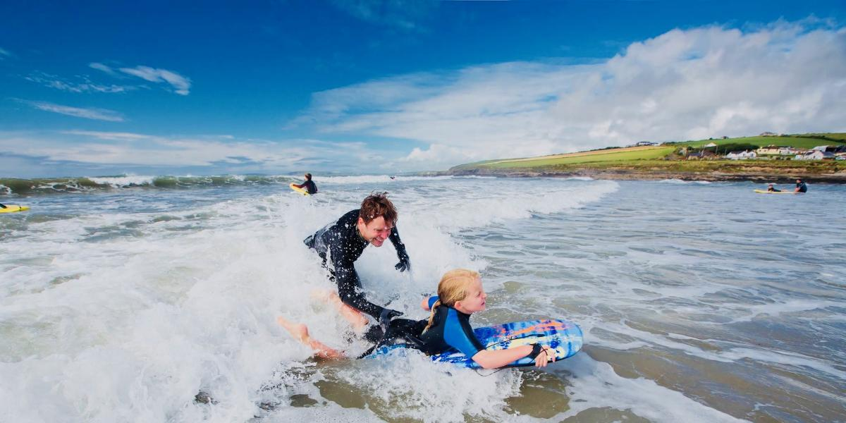 Surfing in Country Cork © Pure Cork