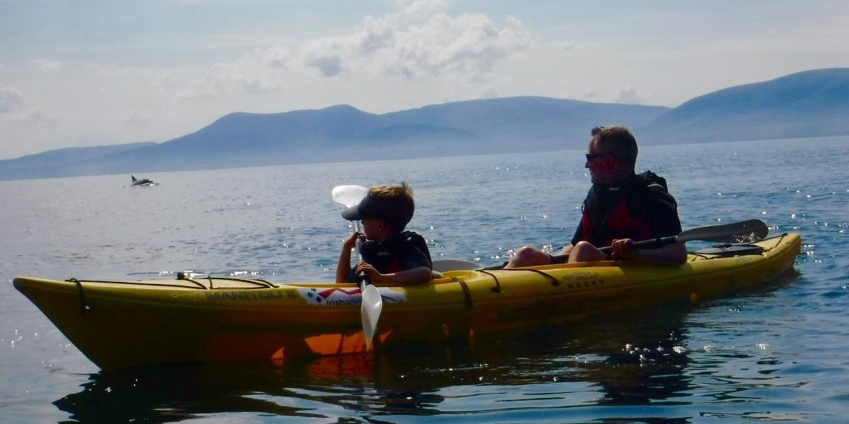 Spotting Fungi from the sea kayak off County Kerry. © Rhonda Carrier