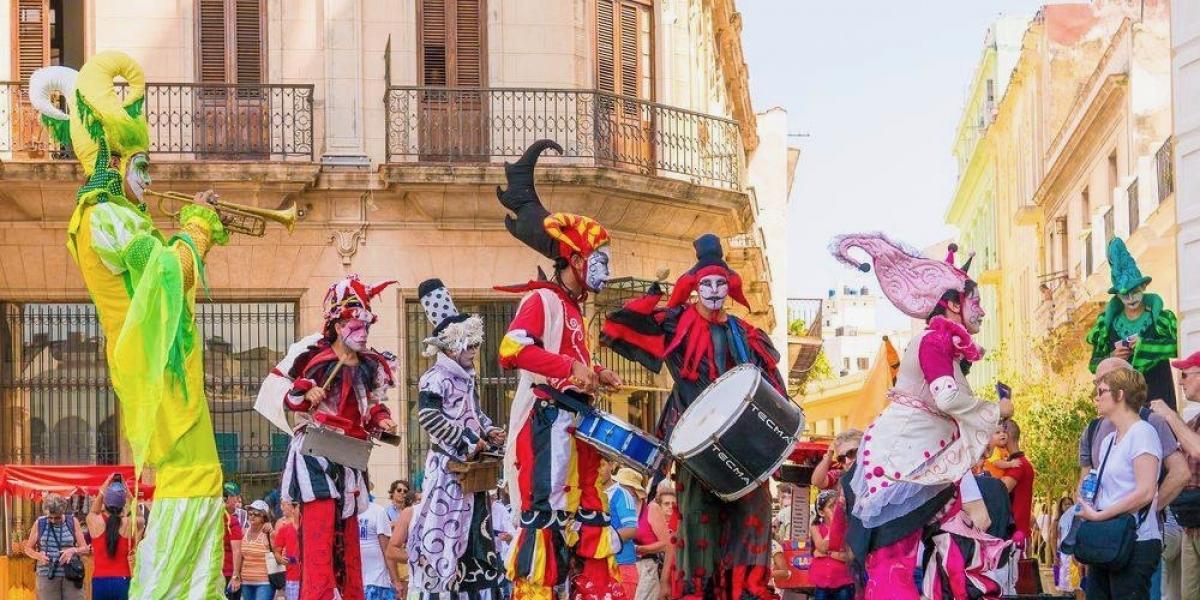Carnival time © Visit Cuba