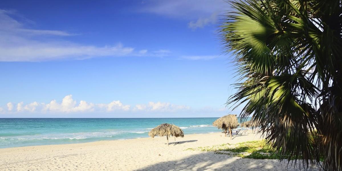 Stunning white sands at Melia Peninsula Varadero, Cuba.