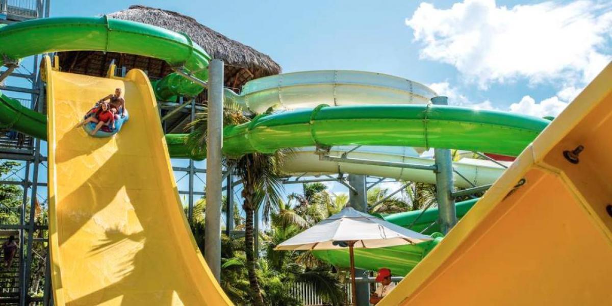 Waterpark fun at Memories Splash Punta Cana.