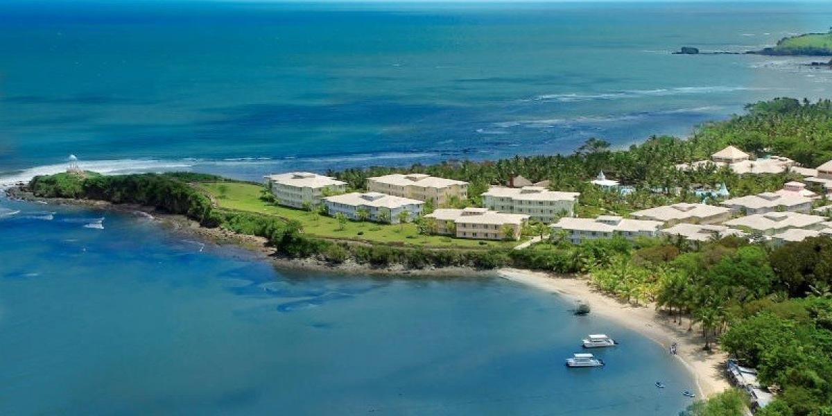 Aerial view of ClubHotel Riu Bachata.