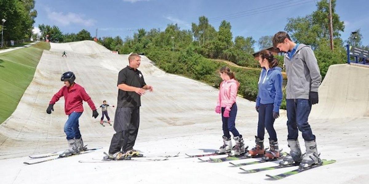 Ski centre at Warmwell.