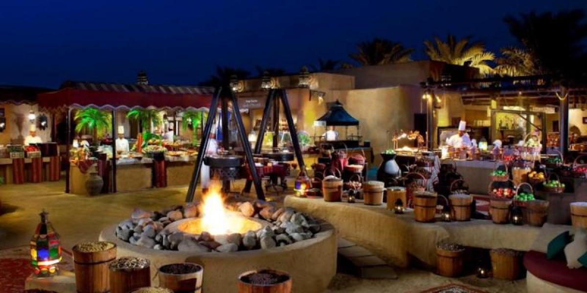 Souk at Bab Al Shams Desert Resort & Spa.