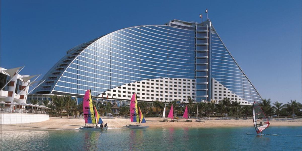 Exterior view of the Jumeirah Beach.