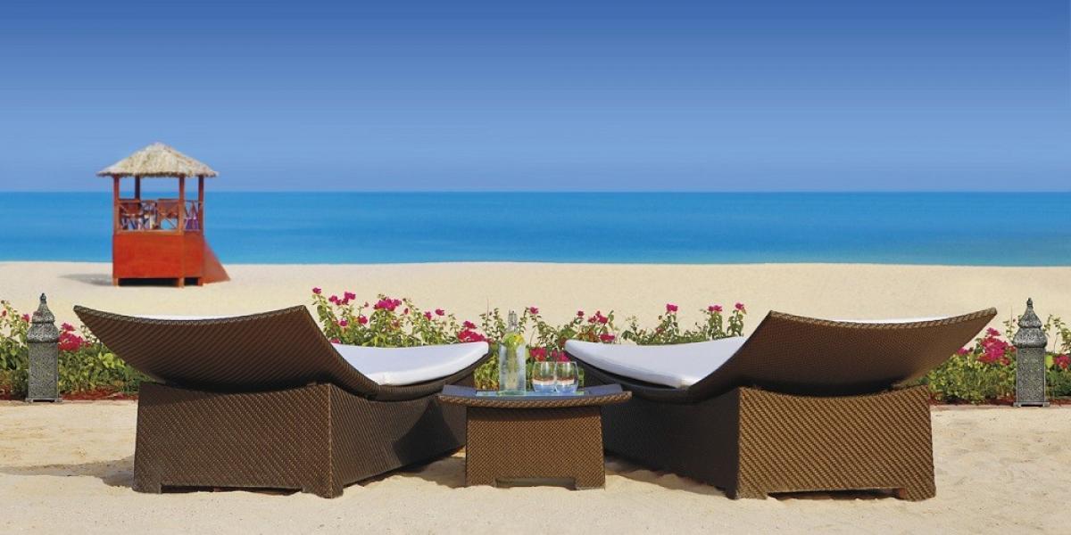 Beach at The Ritz-Carlton.