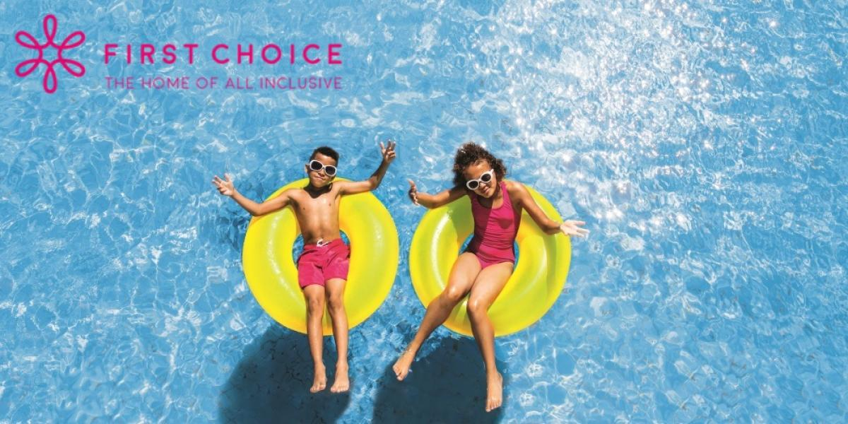 First Choice all-inclusive family holidays.