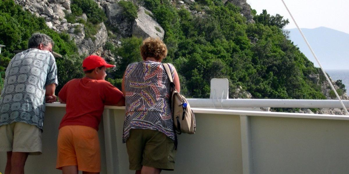 Cruising on the Adriatic in Croatia