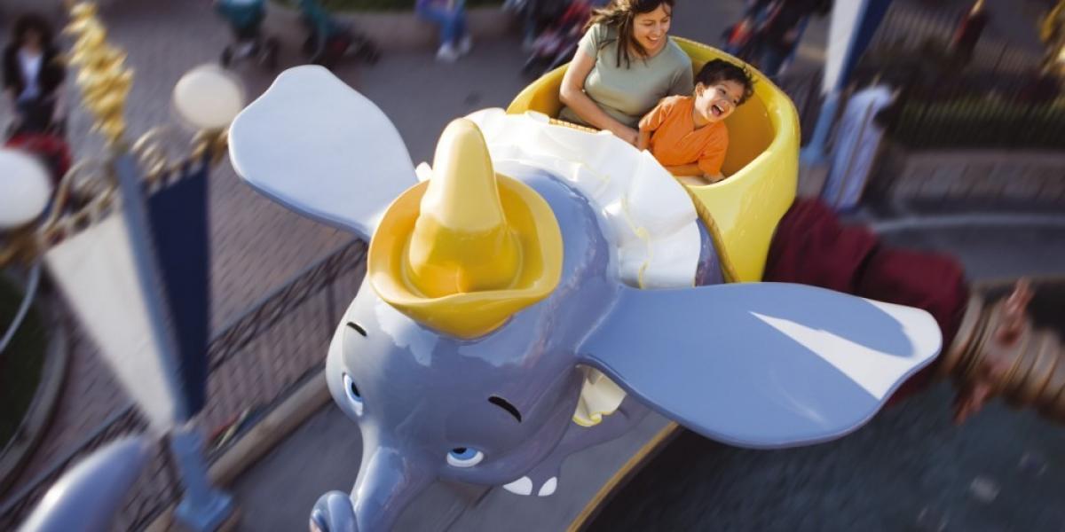 Dumbo the Flying Elephant, Fantasyland, Disneyland® Park