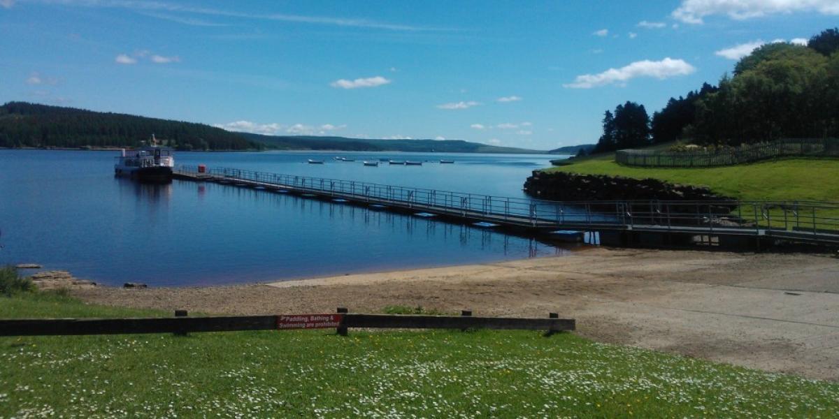 Kielder Water, Hoseasons Go Active holiday park in Northumberland