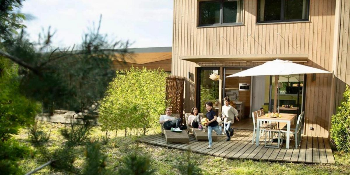 Accommodation at Villages Nature® Paris.