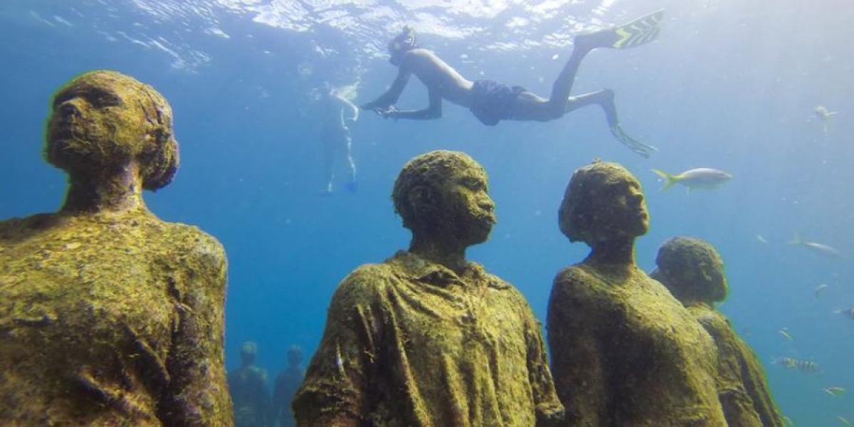 Underwater Sculpture Park.