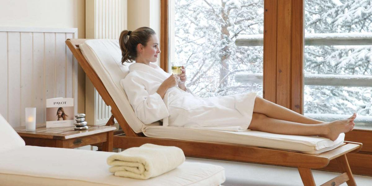 Spa time at Club Med Serre Chevalier.