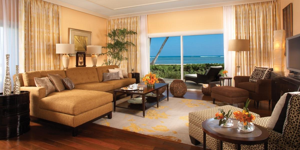 Beach Suite at The Kahala Hotel & Resort.