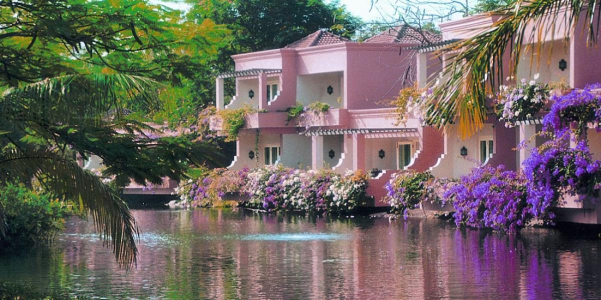 Riverside villas at The Leela Kempinski, Goa.