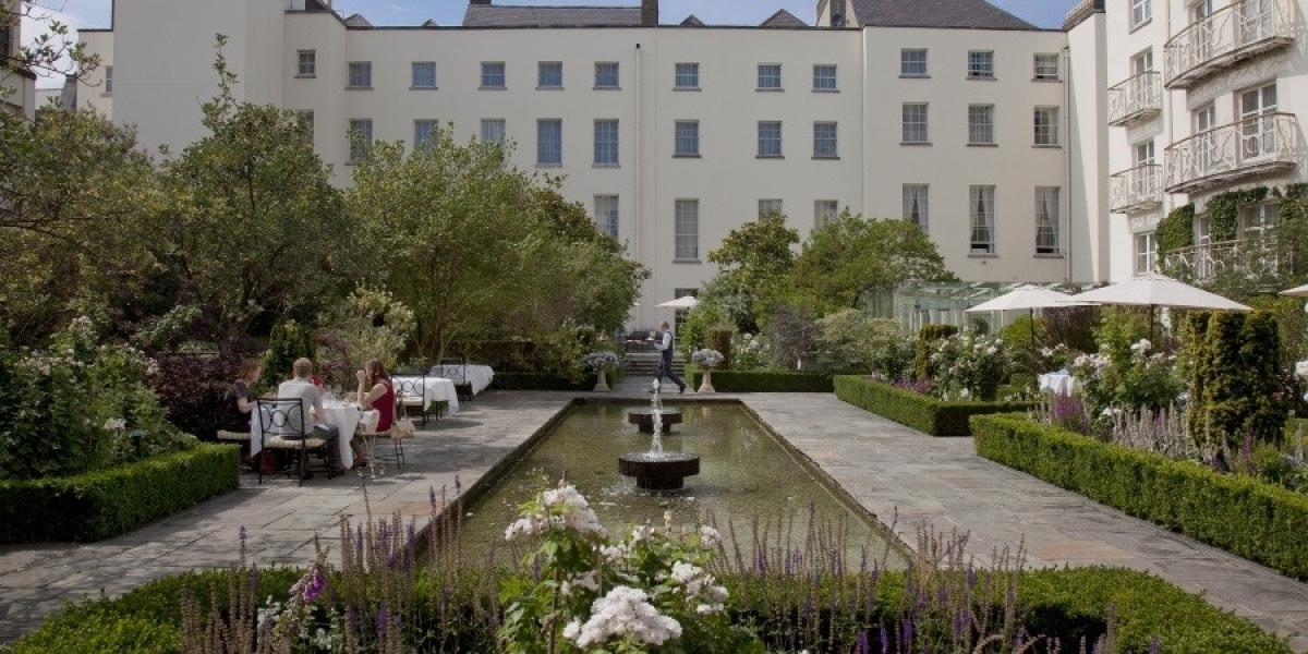 Garden at The Merrion.