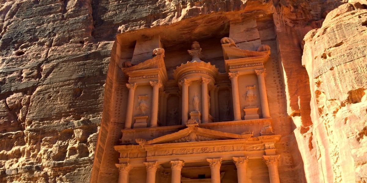The Treasury at Petra