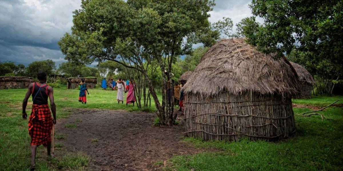 Kenyan village