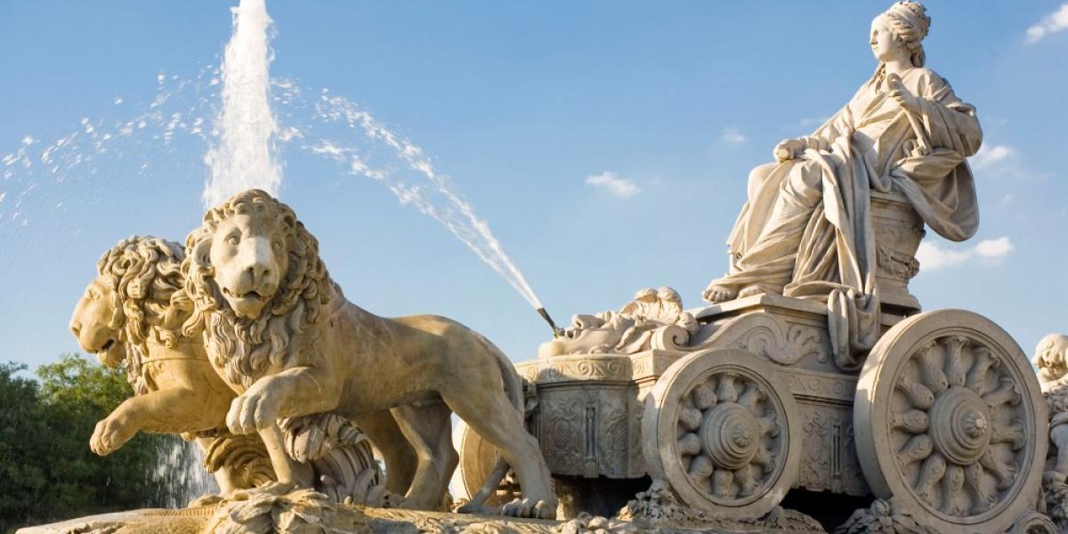 Fountain, Palacio de Cibeles.