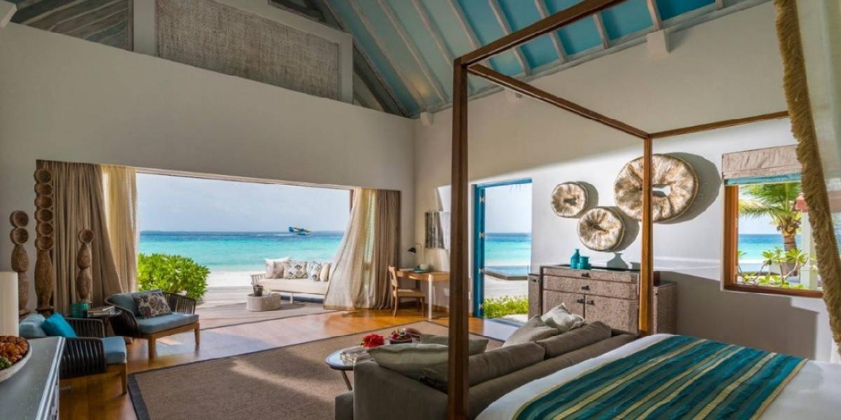 Ocean Villa at Four Seasons Resort at Landaa Giraavaru.