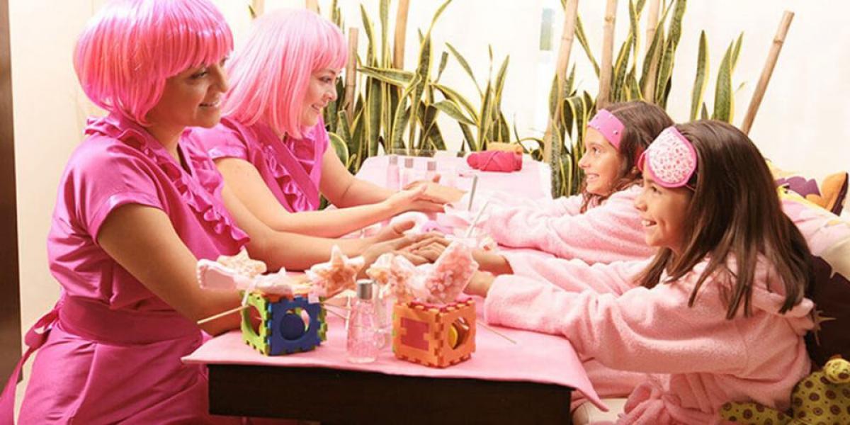Kids' spa treatments at Azul Beach Resort Riviera Maya, by Karisma.