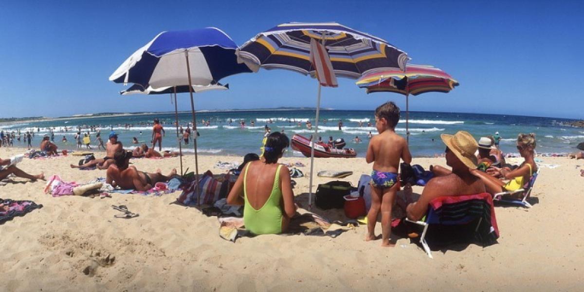 Sydney beach life