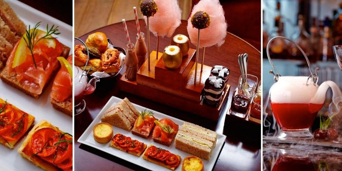 Charlie and the Chocolate Factory afternoon tea, .