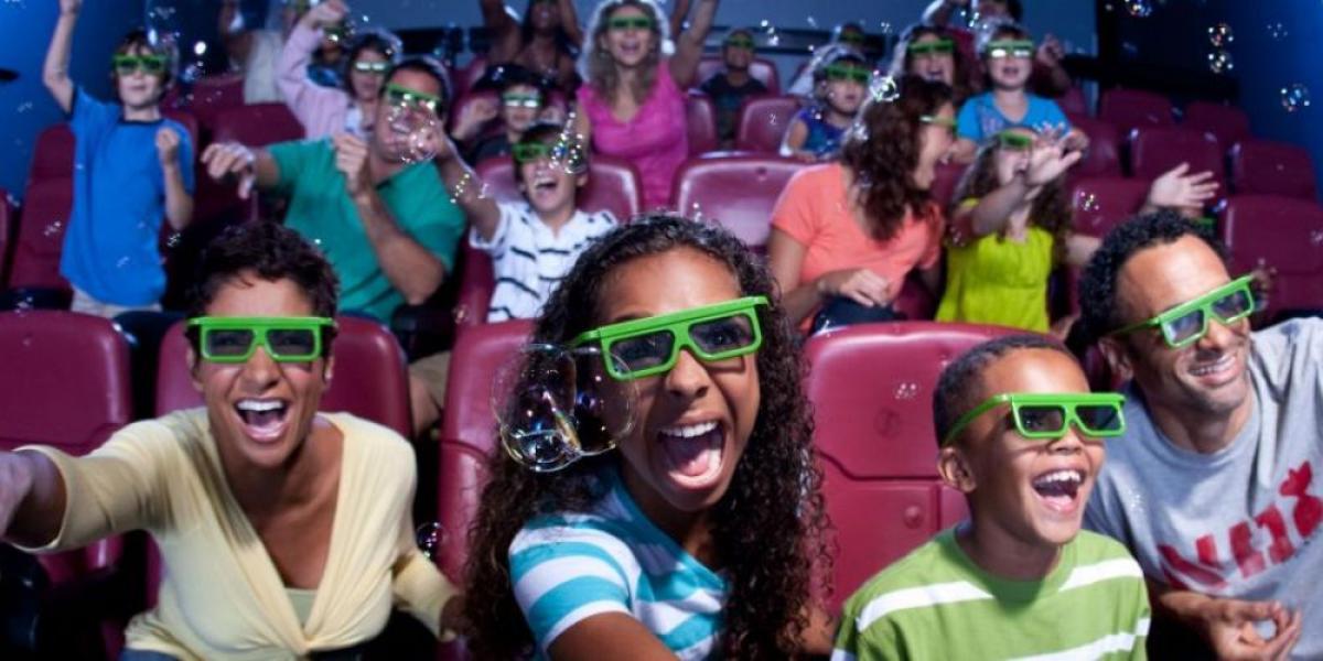 4D cinema at Holiday Inn Resort Orlando Suites Waterpark.