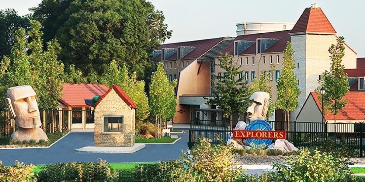 Algonquin's Explorers Hotel near Disneyland Paris