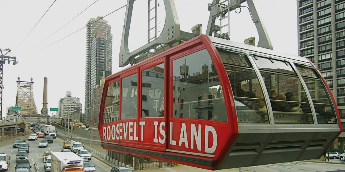 The Roosevelt Island aerial tram