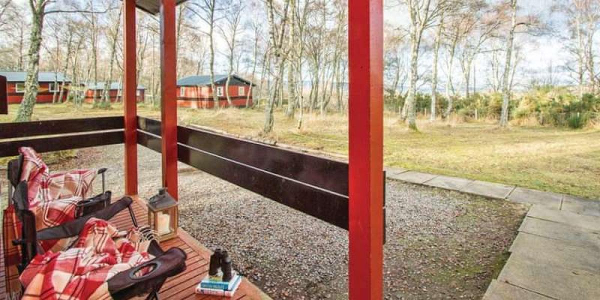 Sit back and enjoy the views from Kiltarlity Lodges.