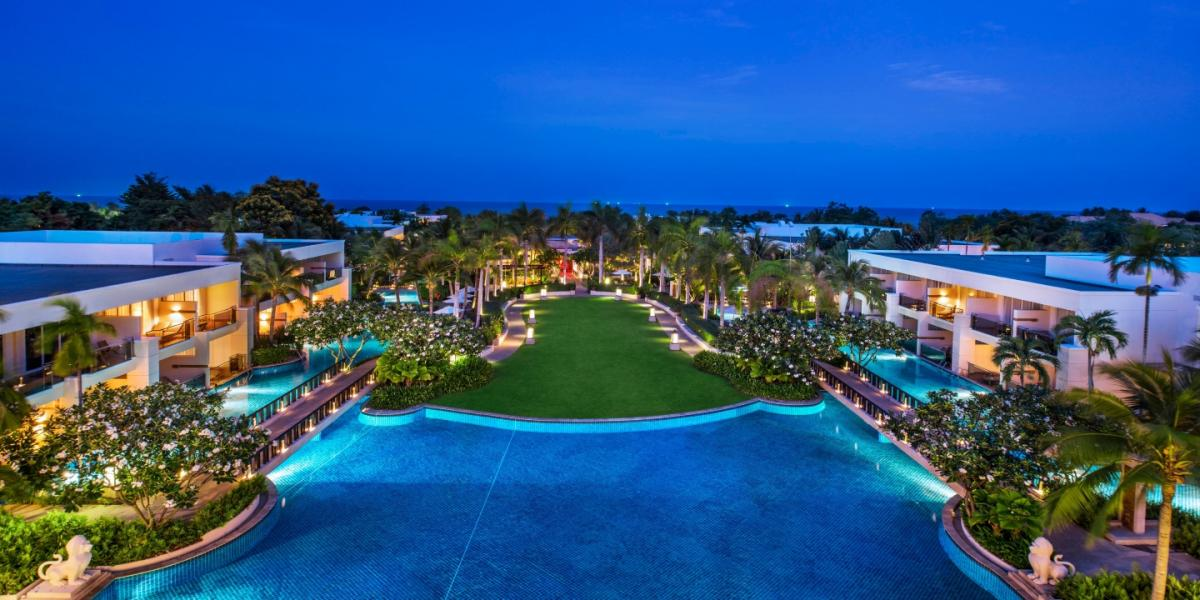Aerial view of Sheraton Hua Hin Resort & Spa.