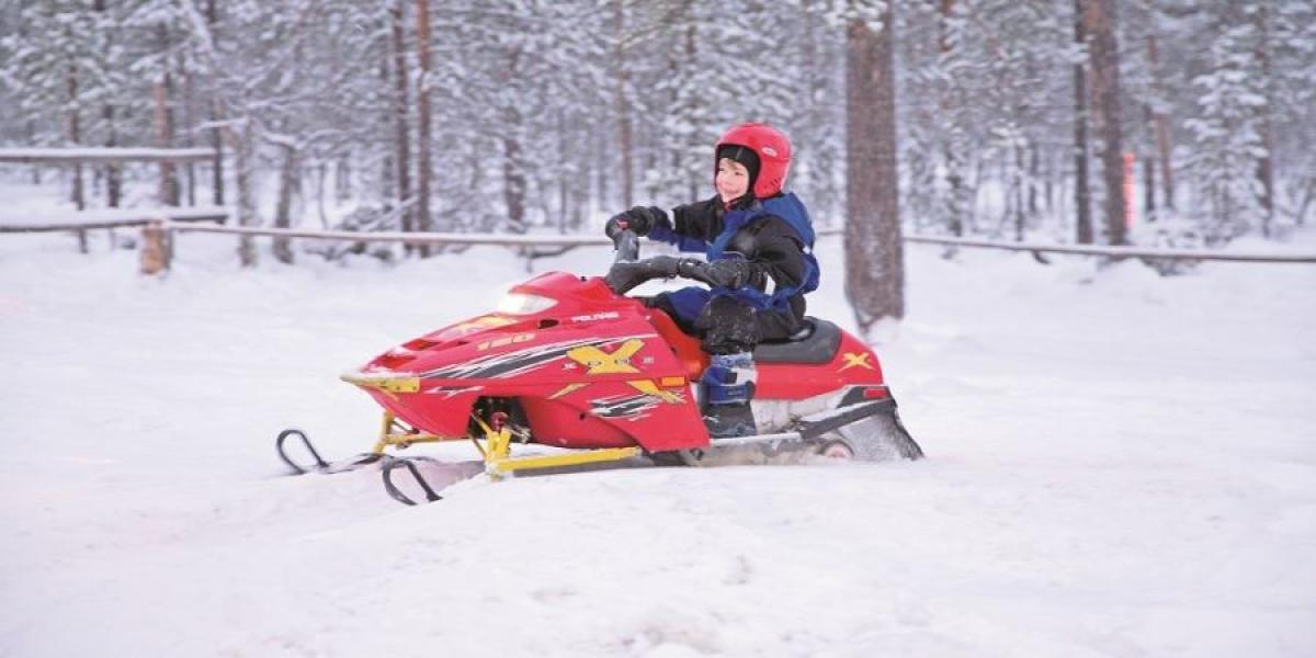 Ideal for the youngest of children; a short adventure in Lapland.