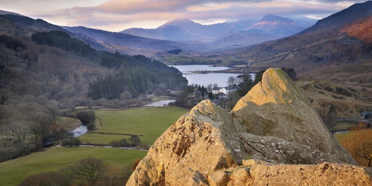 Snowdon from the Pinnacles and Capel Curig
