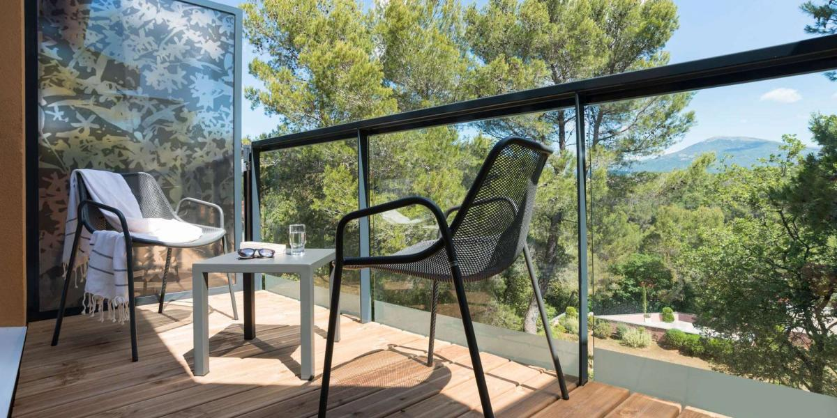 Suite terrace at Club Med Opio en Provence.