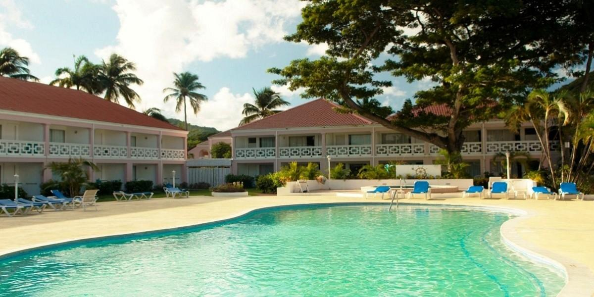 Pool at St Lucian by Rex Resorts.